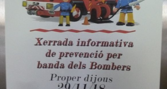 2018 Xerrades de prevenció Habitatges amb Serveis de la Barceloneta